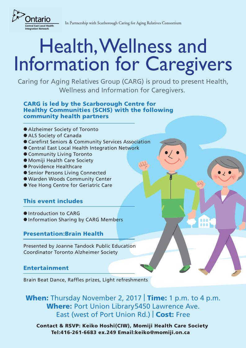 2017 Health, Wellness and Information for Caregivers