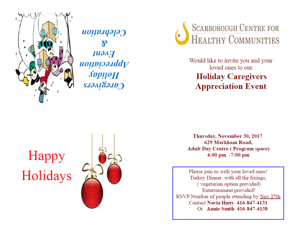 2017 Scarborough Centre for Healthy Communities